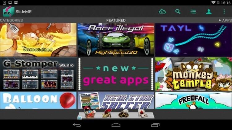 Магазин Android-приложений SlideMe