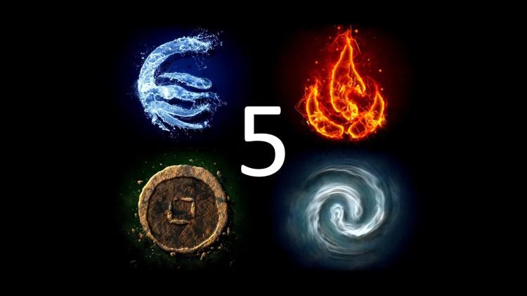 5 элементов