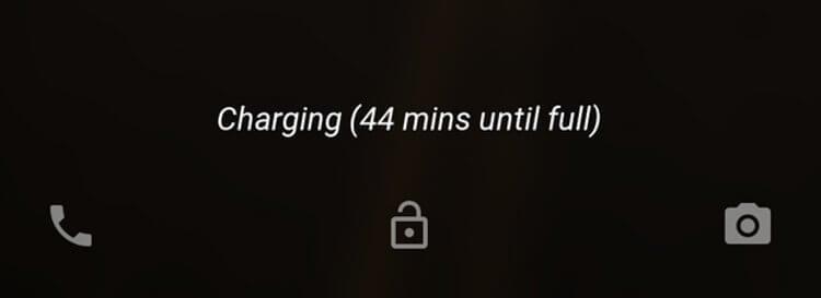 Время зарядки аккумулятора телефона