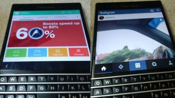 Android приложения на Blackberry Passport