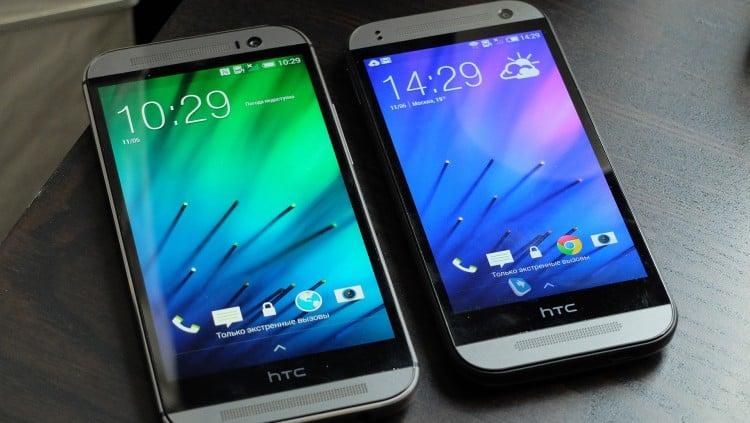 HTC One (M8) и One mini (E8)