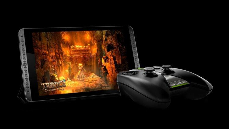 Планшет NVIDIA SHIELD Tablet и игровой контроллер