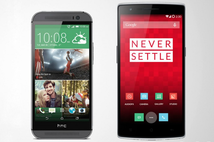 One Plus One vs HTC One