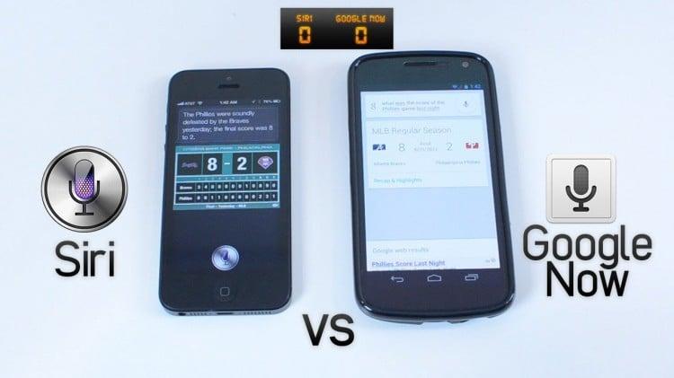 Siri vs Now