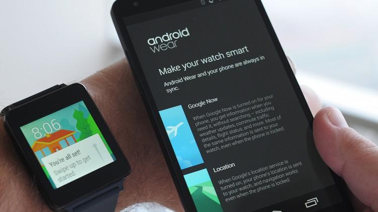 Установка android wear