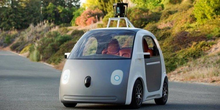 Самоуправляемый car Google