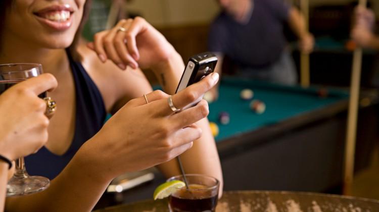 телефон в ресторане