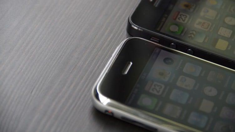 iPhone 2g vs 5