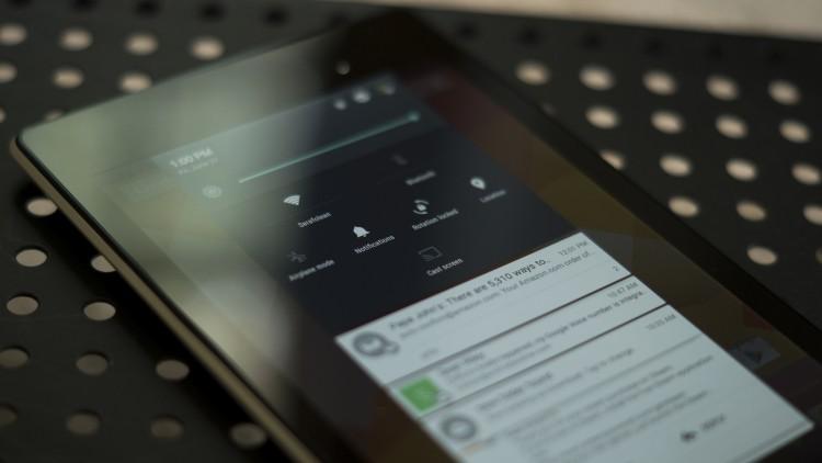 nexus 7 и android L