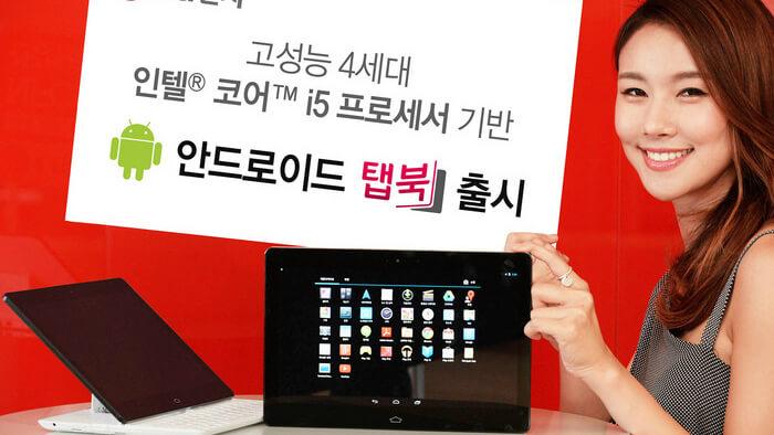 планшет LG
