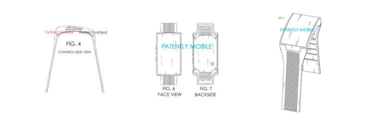 Патент LG на смартфон-часы