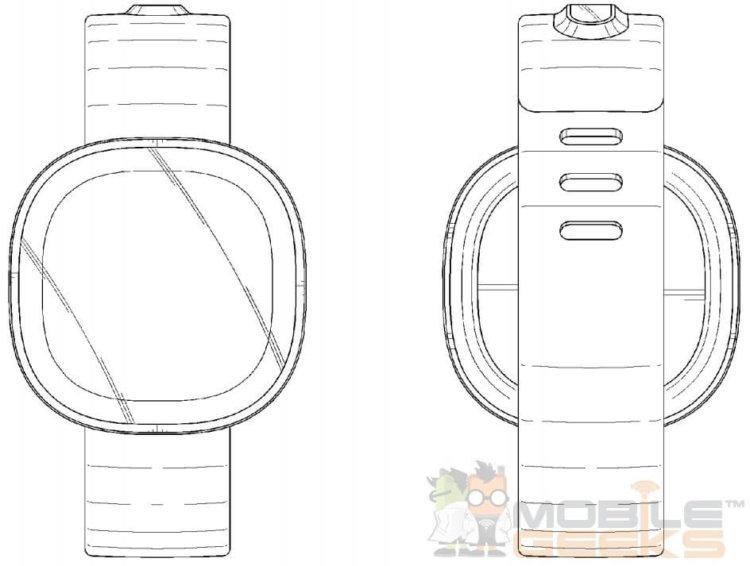 samsung часы патент