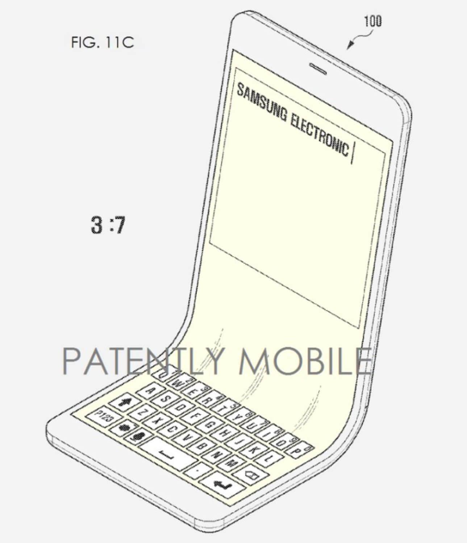 Samsung работает над гибким телефоном