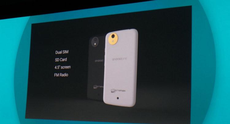 Android One поступит в продажу на следующей неделе
