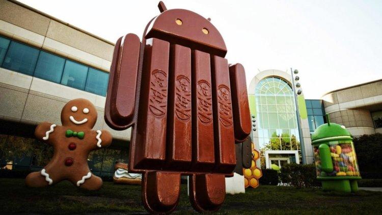 Статистика Android за август