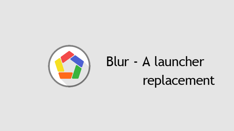 blur launcher