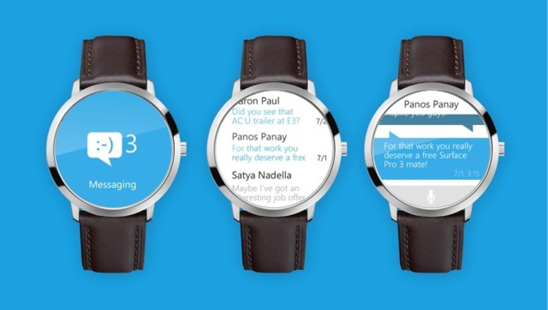 часы от Microsoft