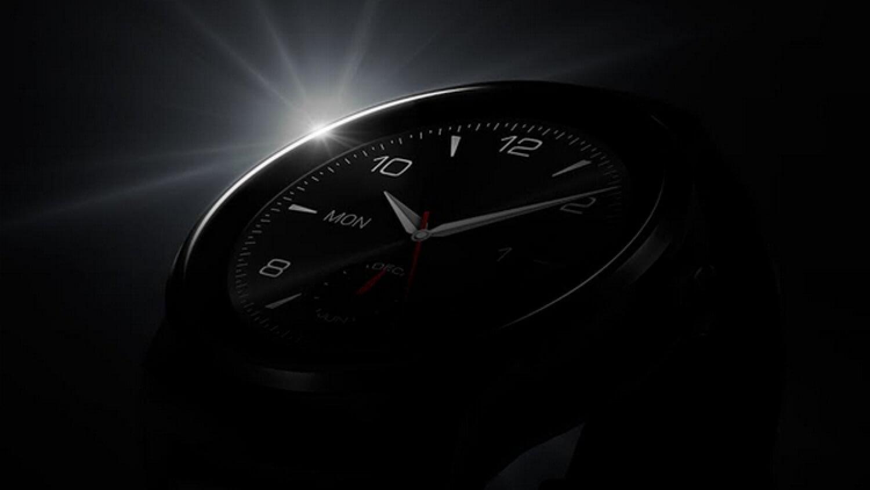LG выложила фото G Watch R
