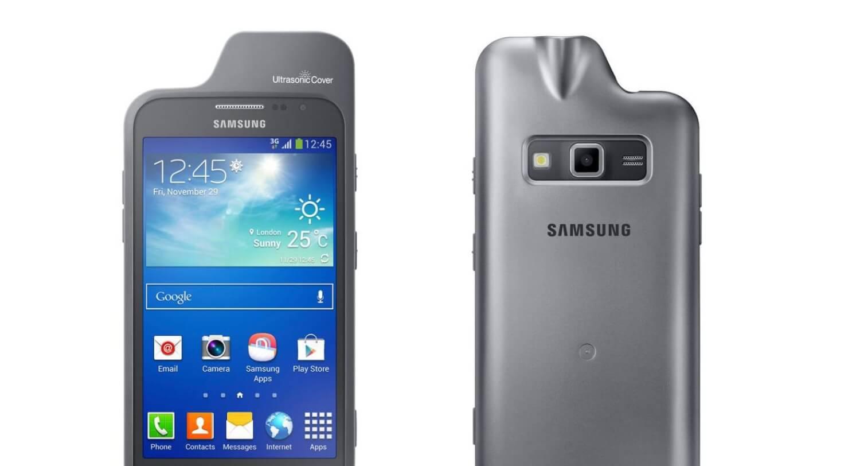 Samsung создает ультразвуковой чехол