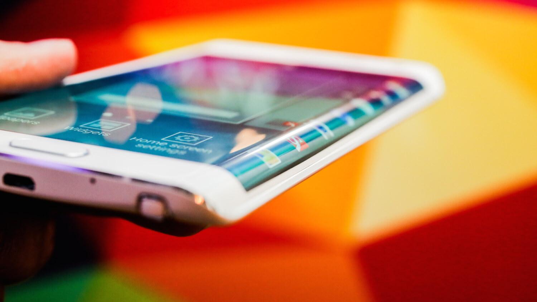 На что способна боковая грань дисплея Galaxy Note Edge?