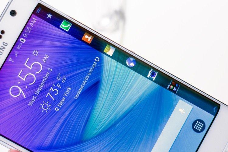 Samsung Galaxy Note Edge отличился в тестах производительности