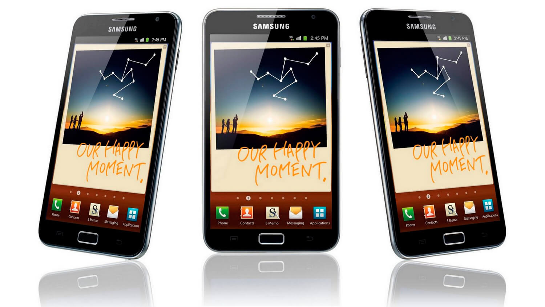 Эволюция фаблетов: как развивались смартфоны серии Galaxy Note
