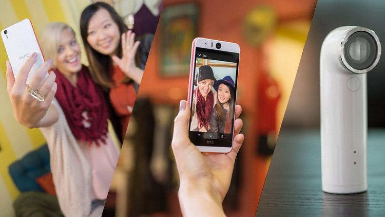 Сравнение HTC Desire Eye с самыми известными селфи-смартфонами