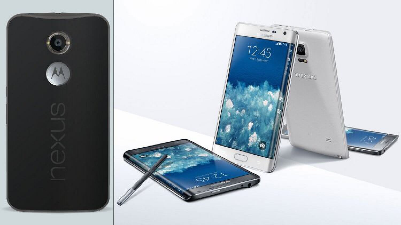 Nexus 6 и Note Edge