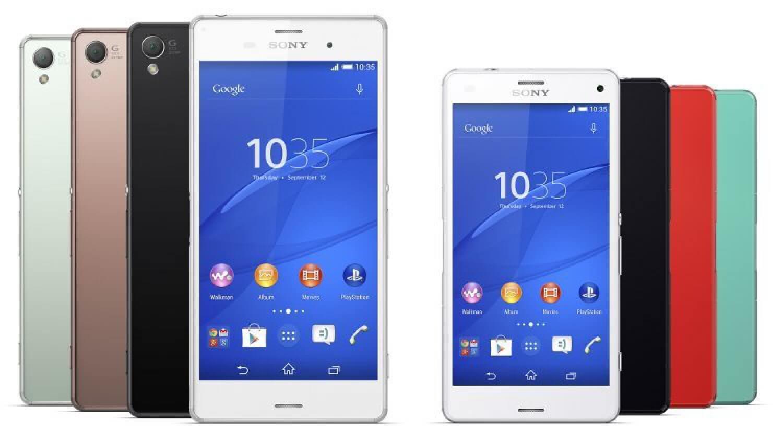 Sony Xperia Z3 и Z3 Compact