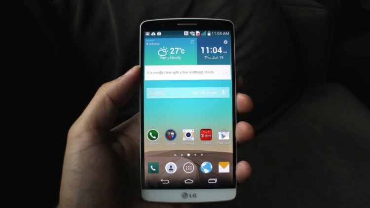 LG-G3 получит Lollipop