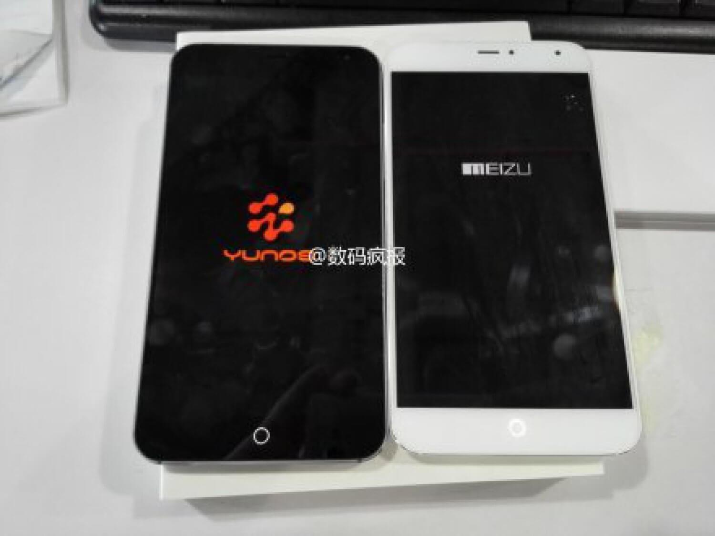 YunOS на Meizu MX4