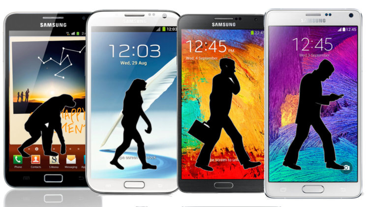 Смартфоны серии Galaxy Note