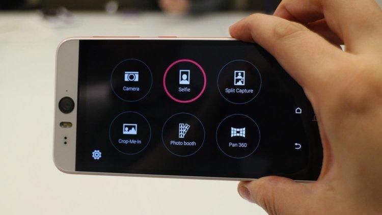 Возможности камеры в HTC Desire Eye