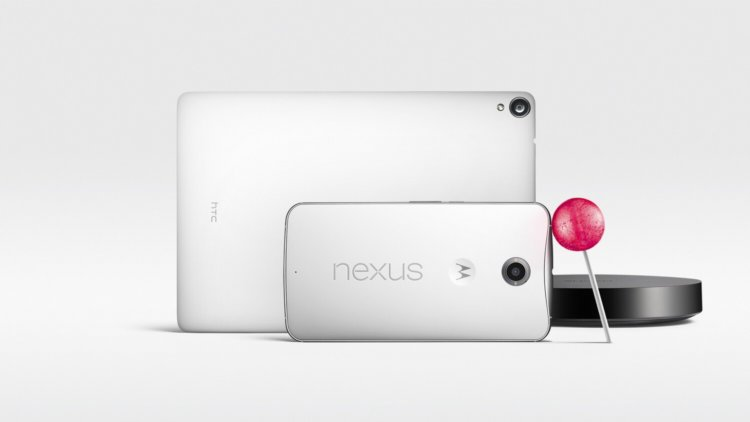 Google представила Nexus 6, Nexus 9, Android 5.0 Lollipop