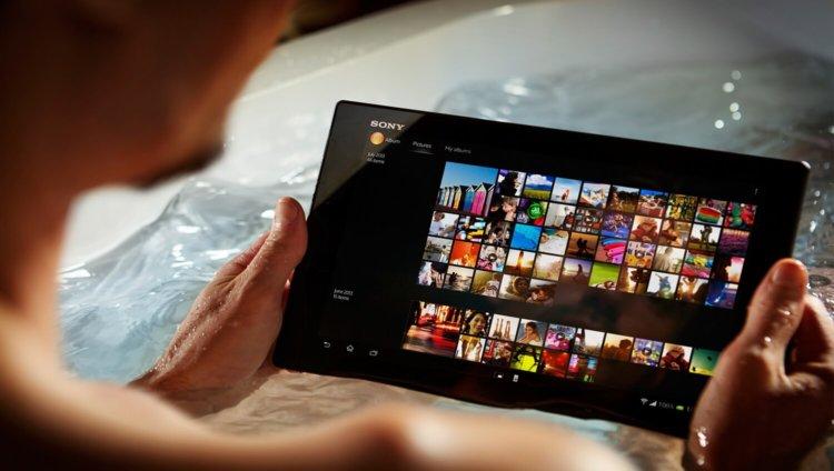 Sony выпустит 12-дюймовый планшет