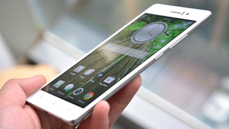 Самый тонкий в мире смартфон OPPO R5