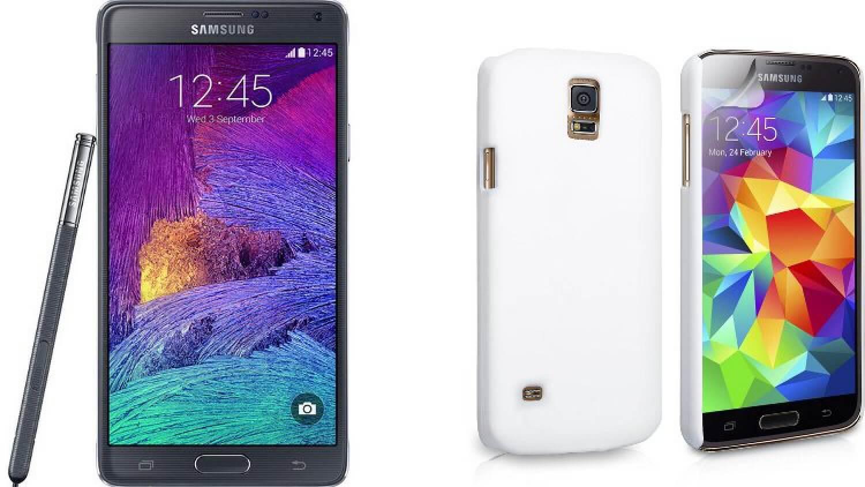 Samsung Note  4 и Galaxy S5