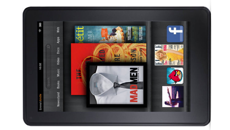 Планшет Amazon Kindle Fire вышел в 2011 году