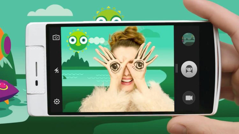 Смартфон Oppo N3 с поворотной камерой