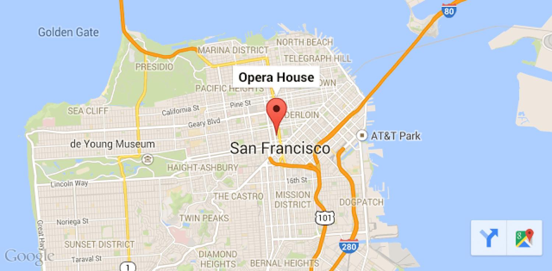 Google Map Toolbar