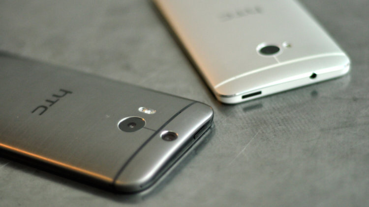 HTC One M8 vs One M7