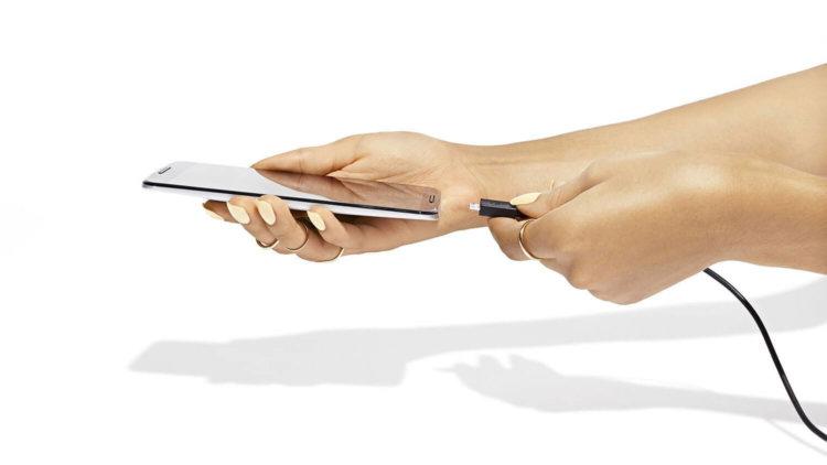 Быстрая зарядка смартфонов