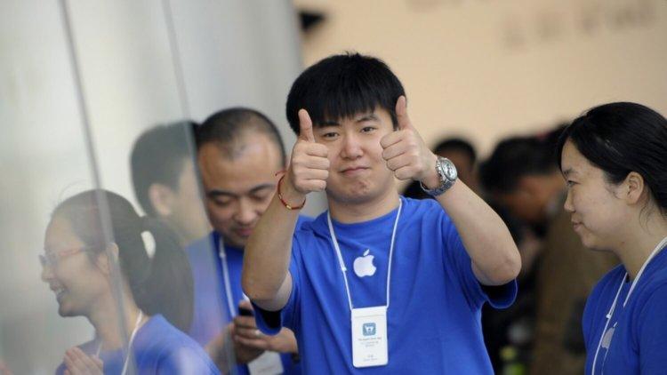 Китайский Apple Store