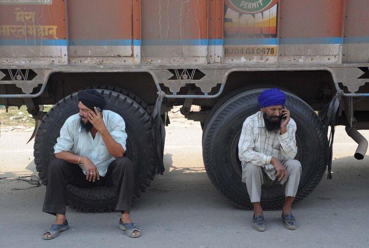 Пользователи смартфонов в Индии