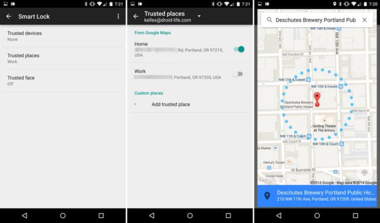 smart lock в android 5.0