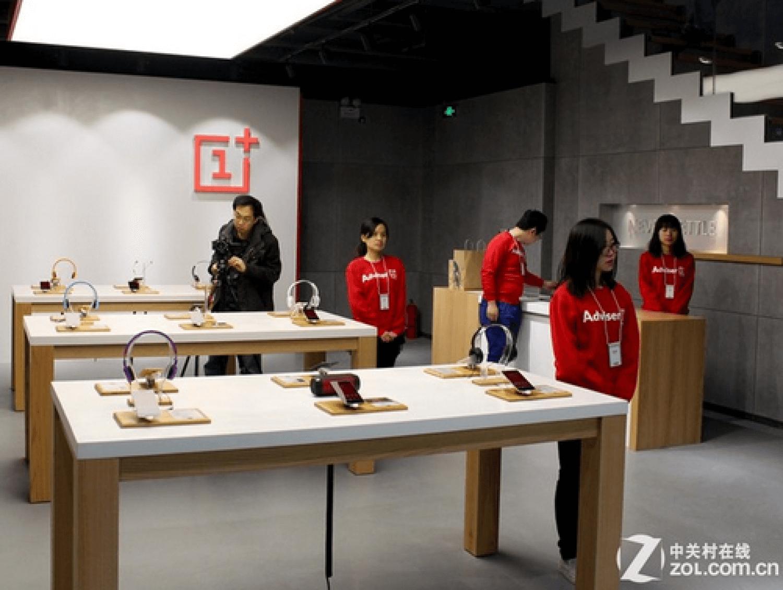Первый магазин OnePlus