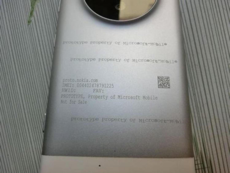Якобы прототип Microsoft Lumia 1030