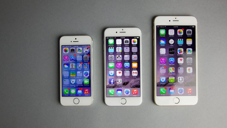 6 Plus крупнее всех других iPhone