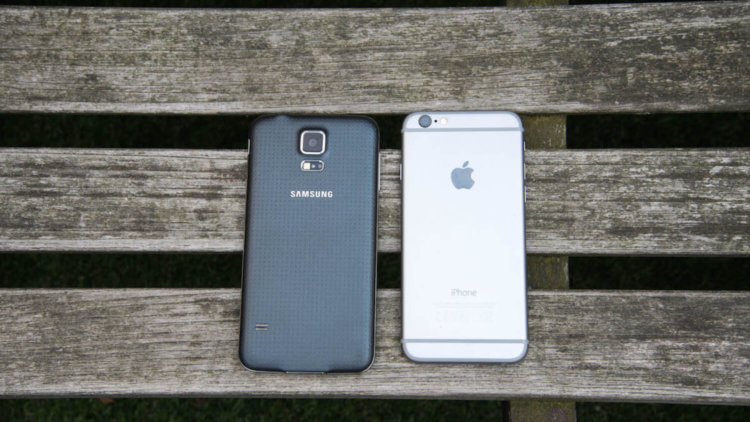 Galaxy S5 iPhone 6
