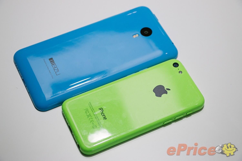 Meizu M1 Note vs iPhone 5C